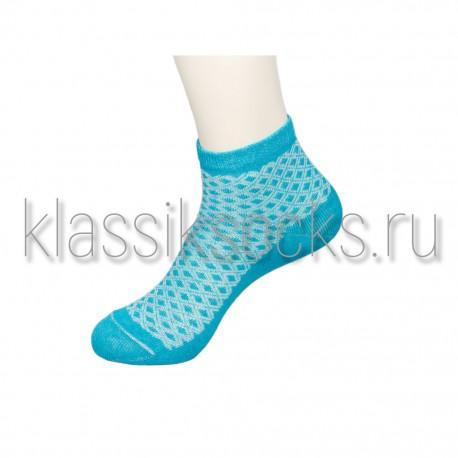 """Женские носки """"Классик"""" КС-132 Ромбики"""