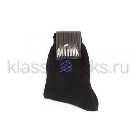 """Зимние мужские носки """"Классик"""" хлопковые КМ-108"""