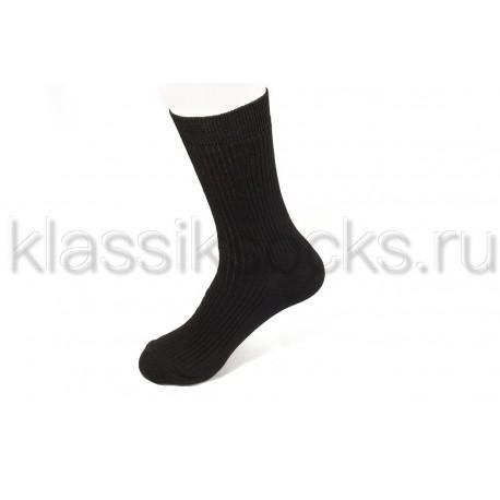 """Зимние мужские носки """"Классик"""" шерсть и хлопок З-168"""