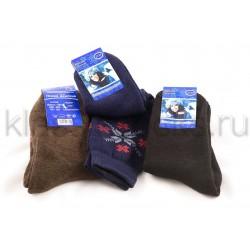 Зимние женские шерстяные носки З-12